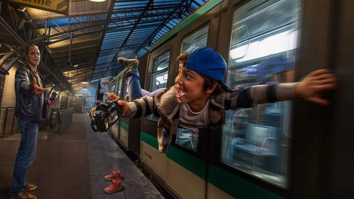 Мужчина превращает обычные фото сына на захватывающие изображения