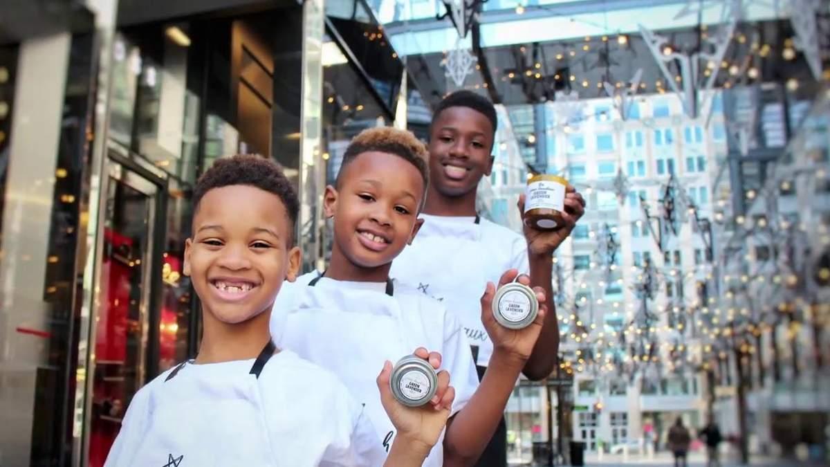 Троє хлопчиків запустили успішний стартап та стали героями