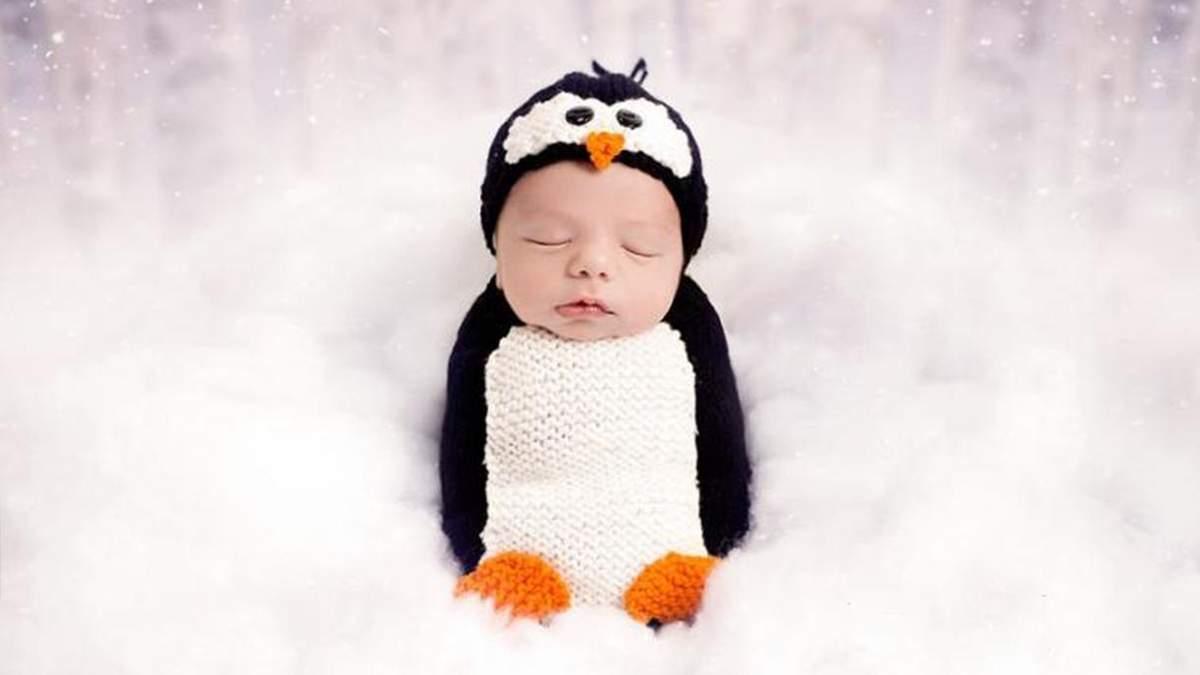 Перше Різдво в житті: малюкам влаштували зворушливу святкову фотосесію