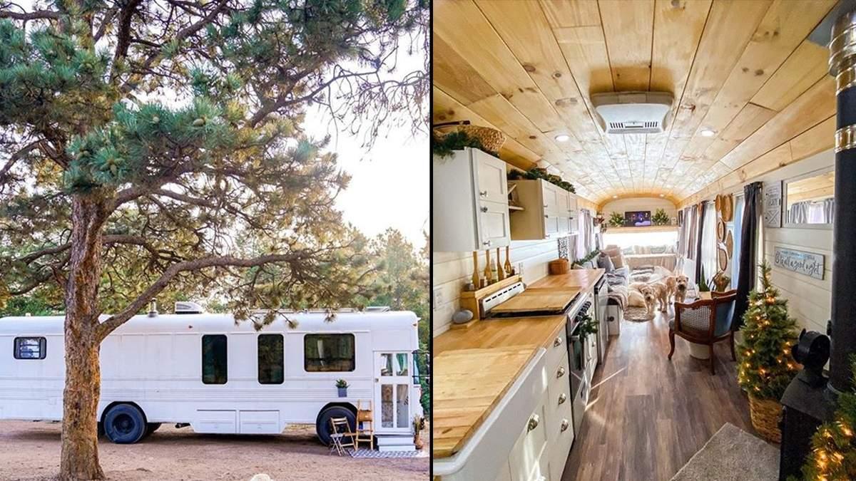 5 семей сделали из фургонов роскошные дома на колесах: впечатляющие фото, которые стоит увидеть