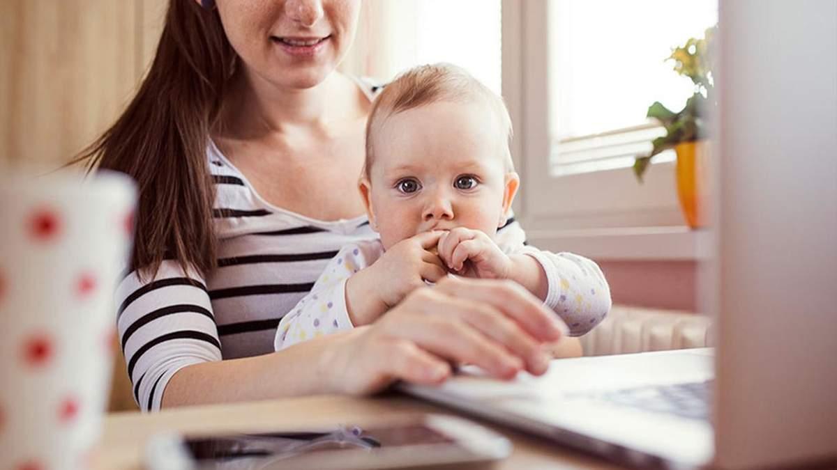 Мама в декрете: 4 легких способа заработка в интернете