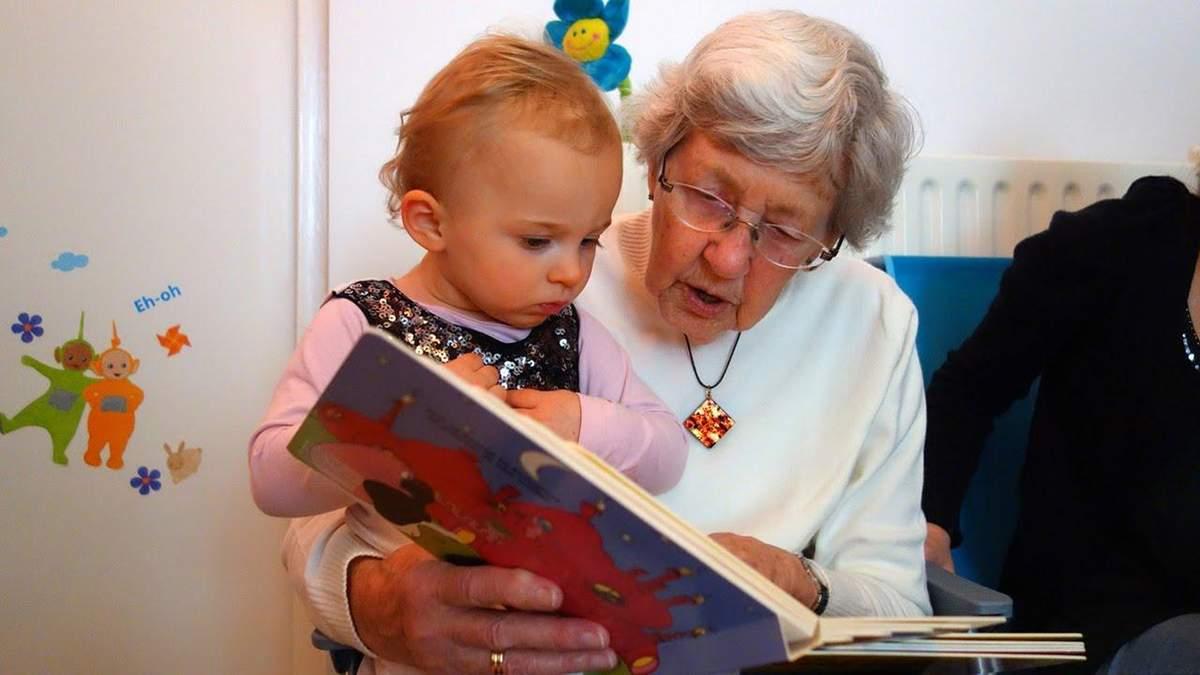 Гениальная идея: в Канаде объединили дома престарелых с детскими домами