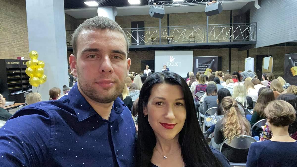 Татьяна Скорнякова с мужем Сергеем