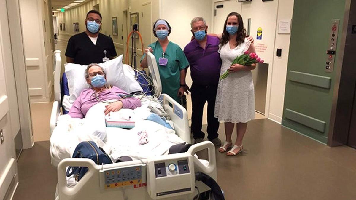 Дочь вышла замуж в больницу, чтобы ее больная мама могла это увидеть