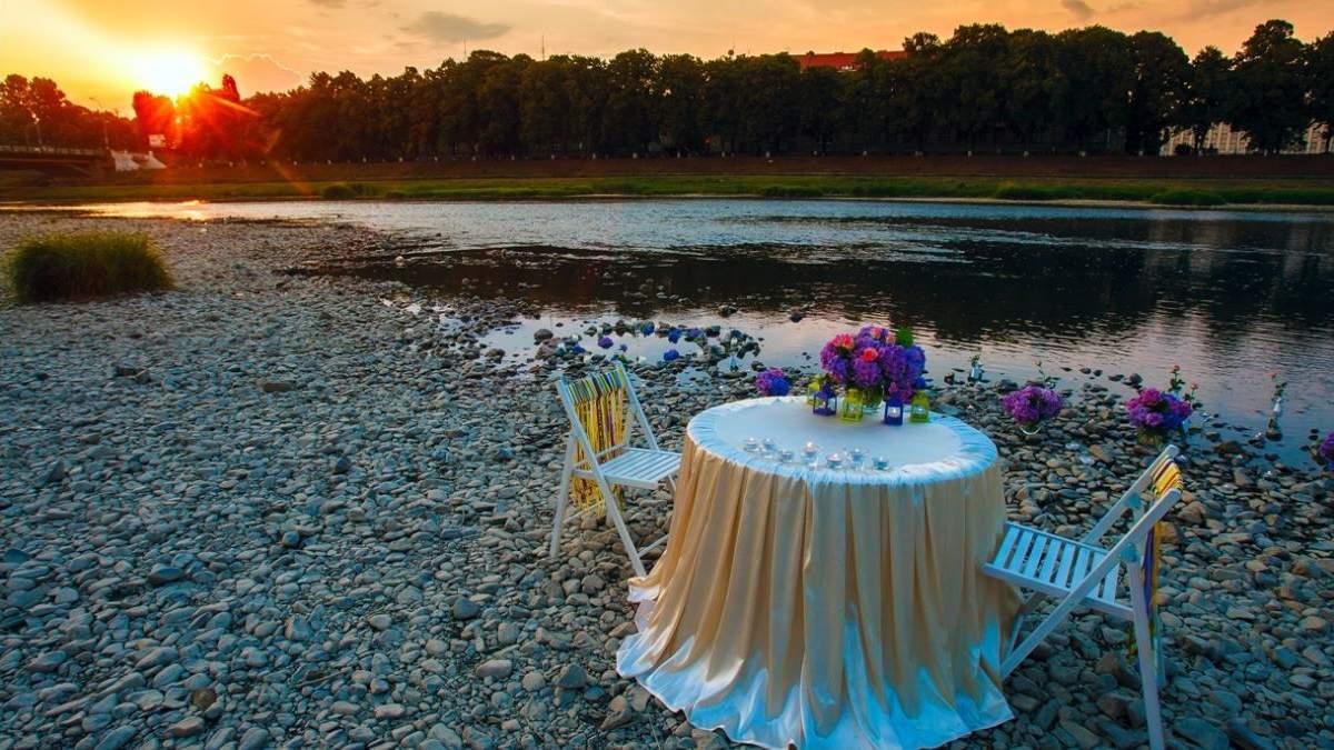 Романтические идеи для свидания на природе