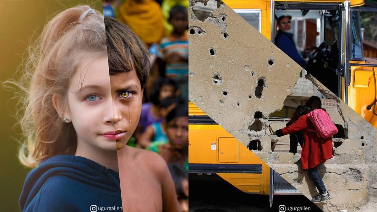 Угур Галленкуш: фото, які демонструють дві сторони людства