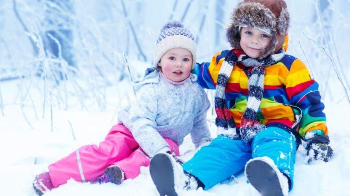 Какие вещи нельзя надевать на ребенка зимой: фото