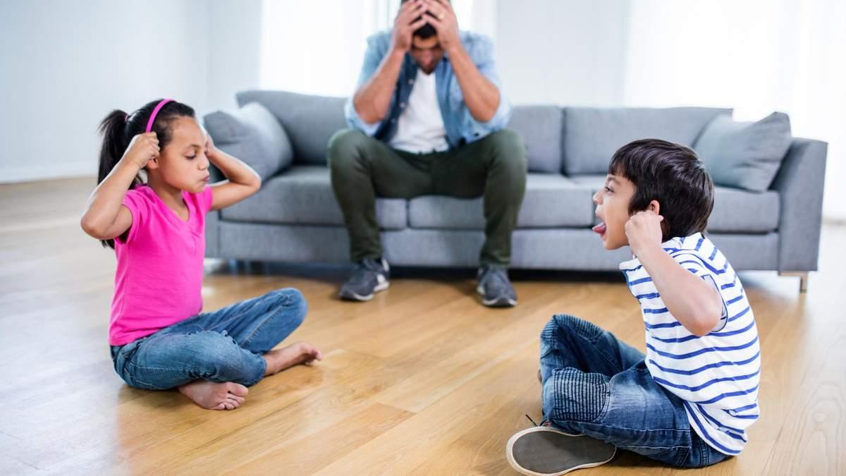 Сварки між братами та сестрами: що робити батькам