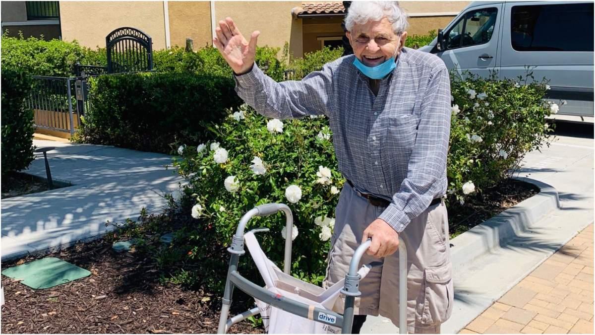 93-летний дедушка нарушил карантин ради батончиков для жены