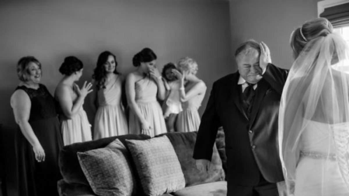 Как отец отдает дочь замуж: трогательные фото со свадеб