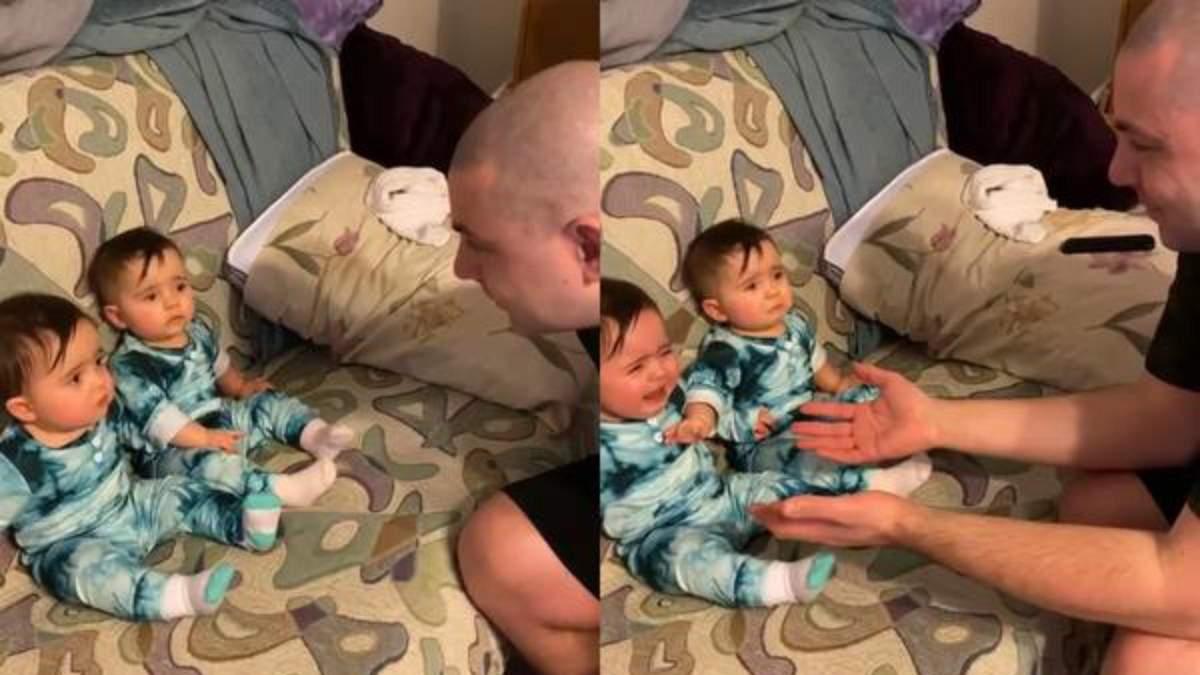 Реакція дітей на батька