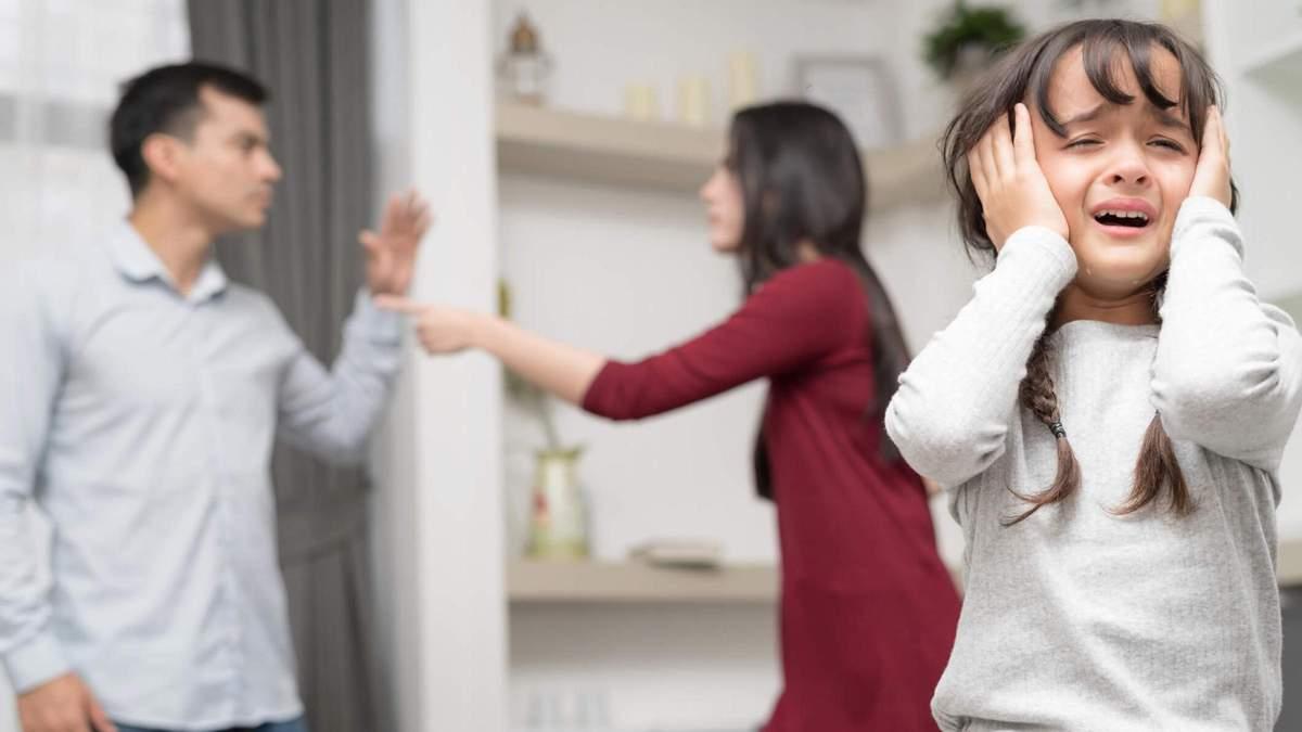 Сварки між батьками: який негативний вплив мають на дитину