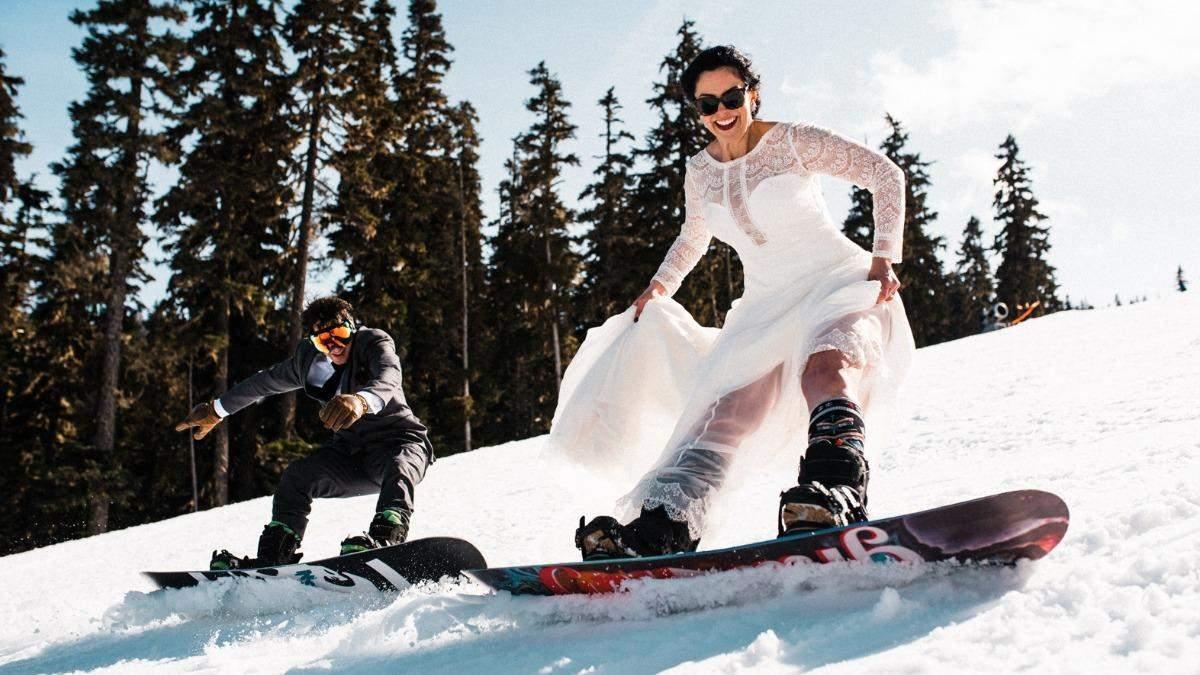 Сафарі, Еверест та Шлюбі в небі: екстремальні весільні фотосесії