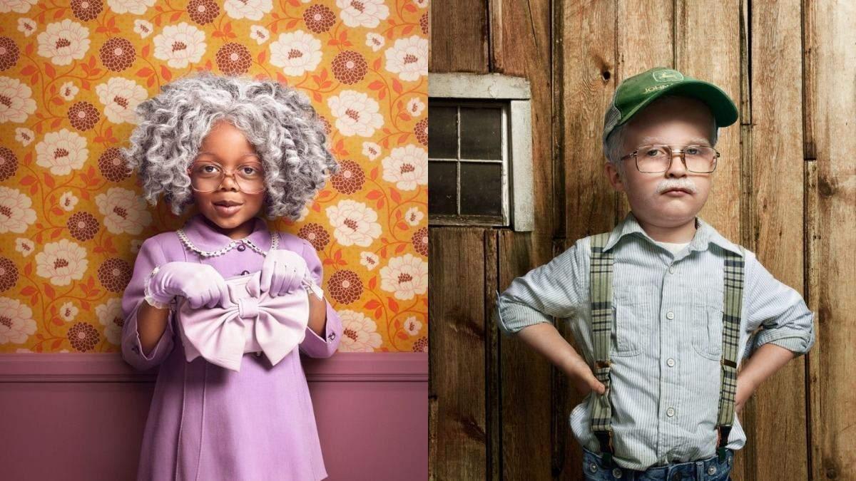 Фотограф зістарив дітей для неординарного проєкту: які вийшли кадри