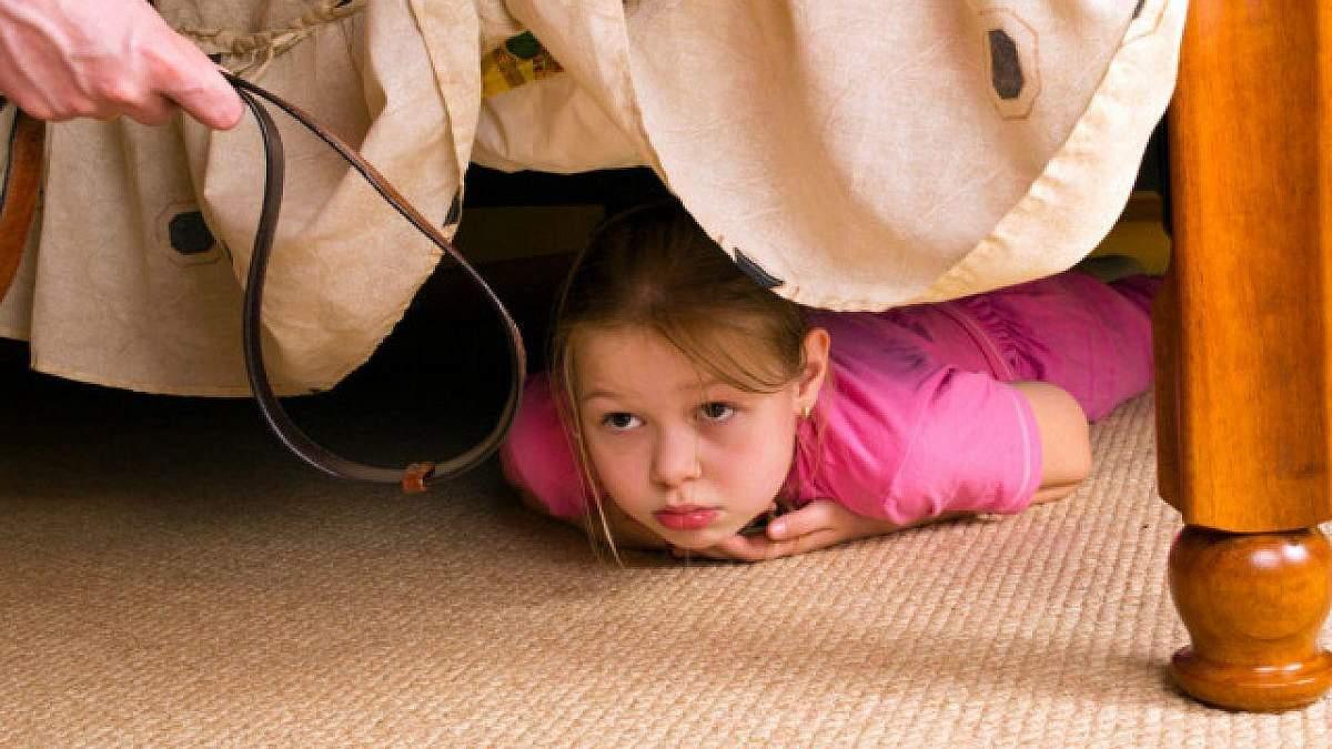 Физическое наказание при воспитании ребенка: негативные последствия