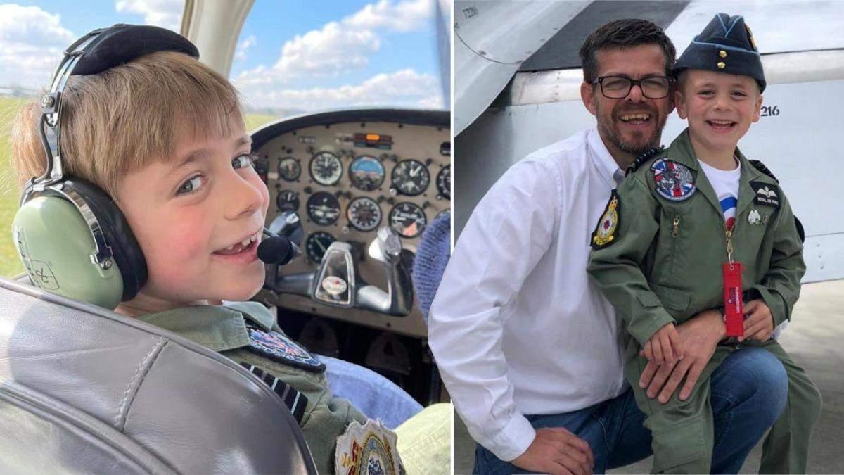 Батько подолав страх літати, аби допомогти сину стати пілотом