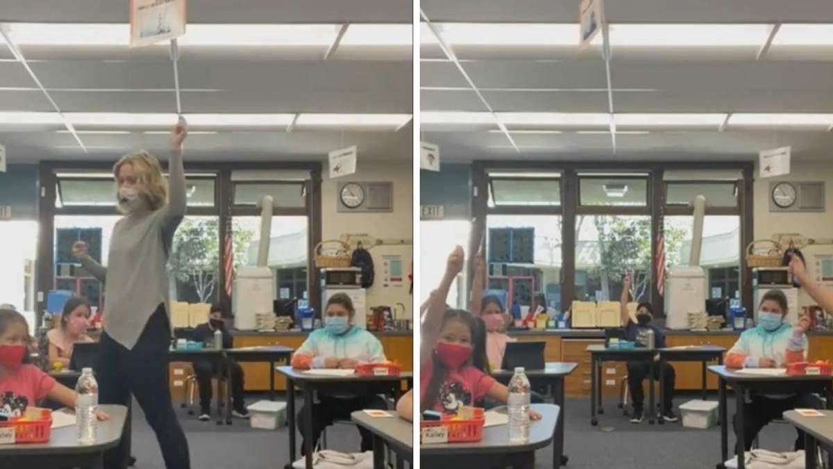 Вчителька в оригінальний спосіб надихає учнів: який метод допомагає