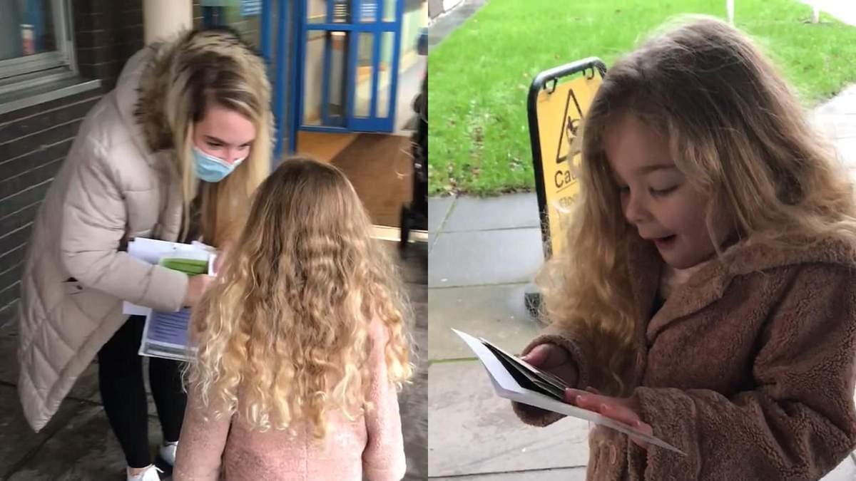 Мама розповіла 5-річній доньці, що вона буде старшою сестрою: відео