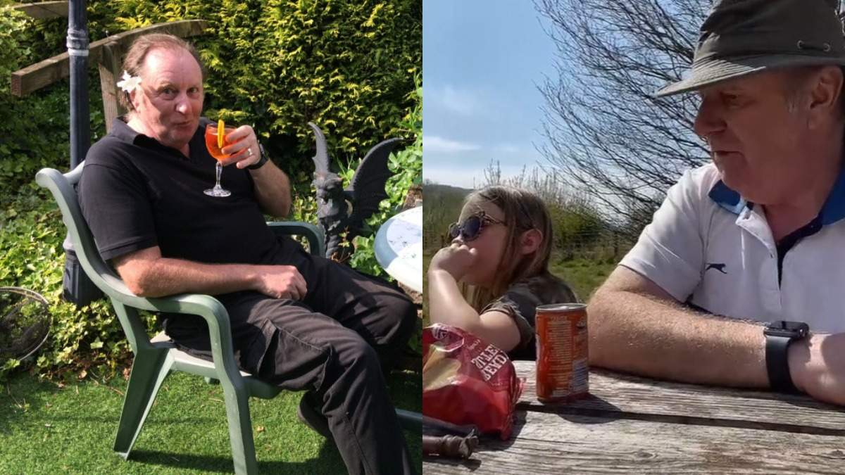 Ради внучки дедушка избавляется от алкогольной зависимости в Тикток