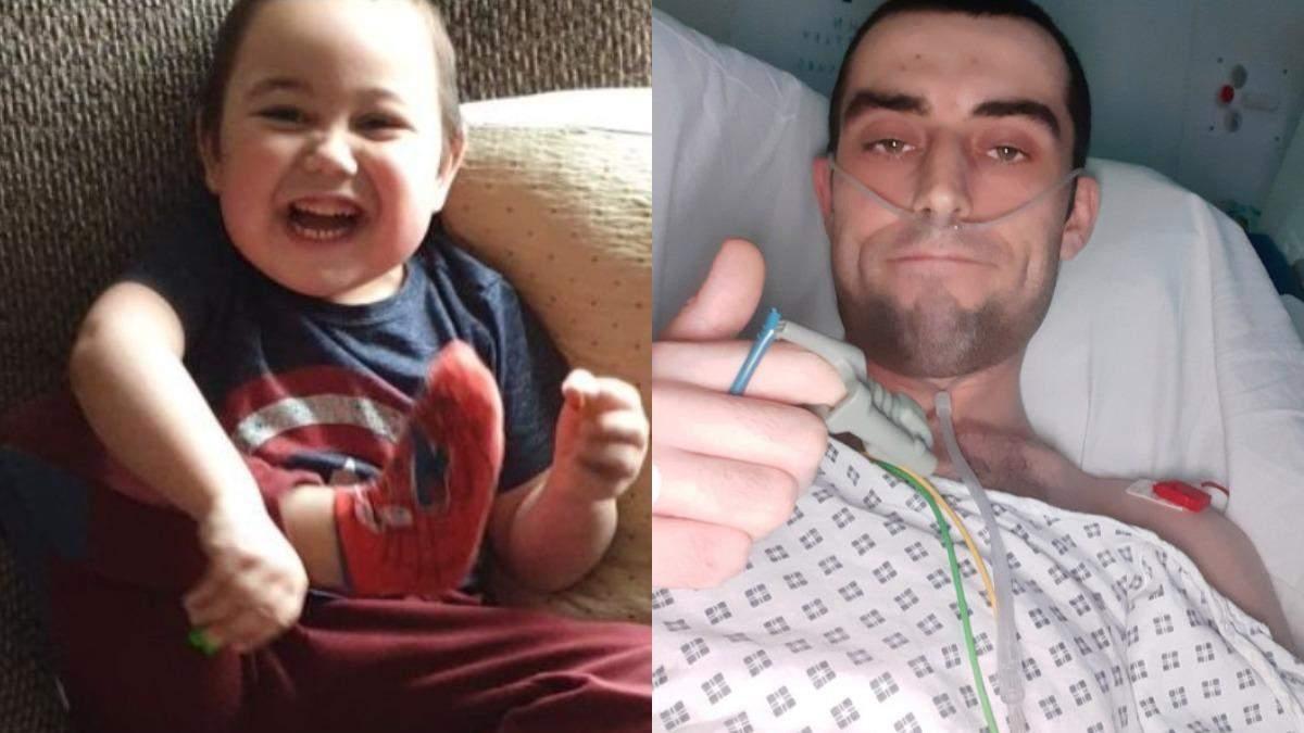 Батько пожертвував нирку, аби син мав нормальне життя