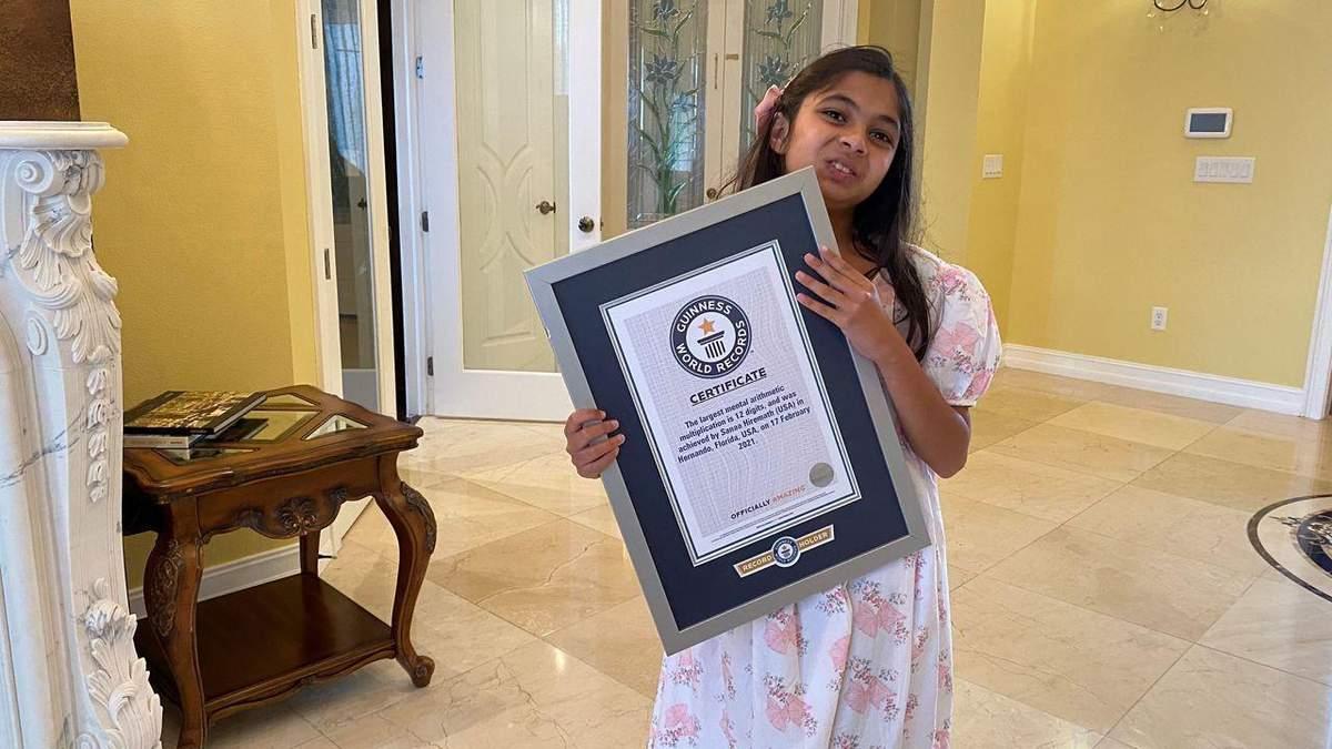 Девочка с аутизмом кинула школу и попала в Книгу рекордов Гиннесса
