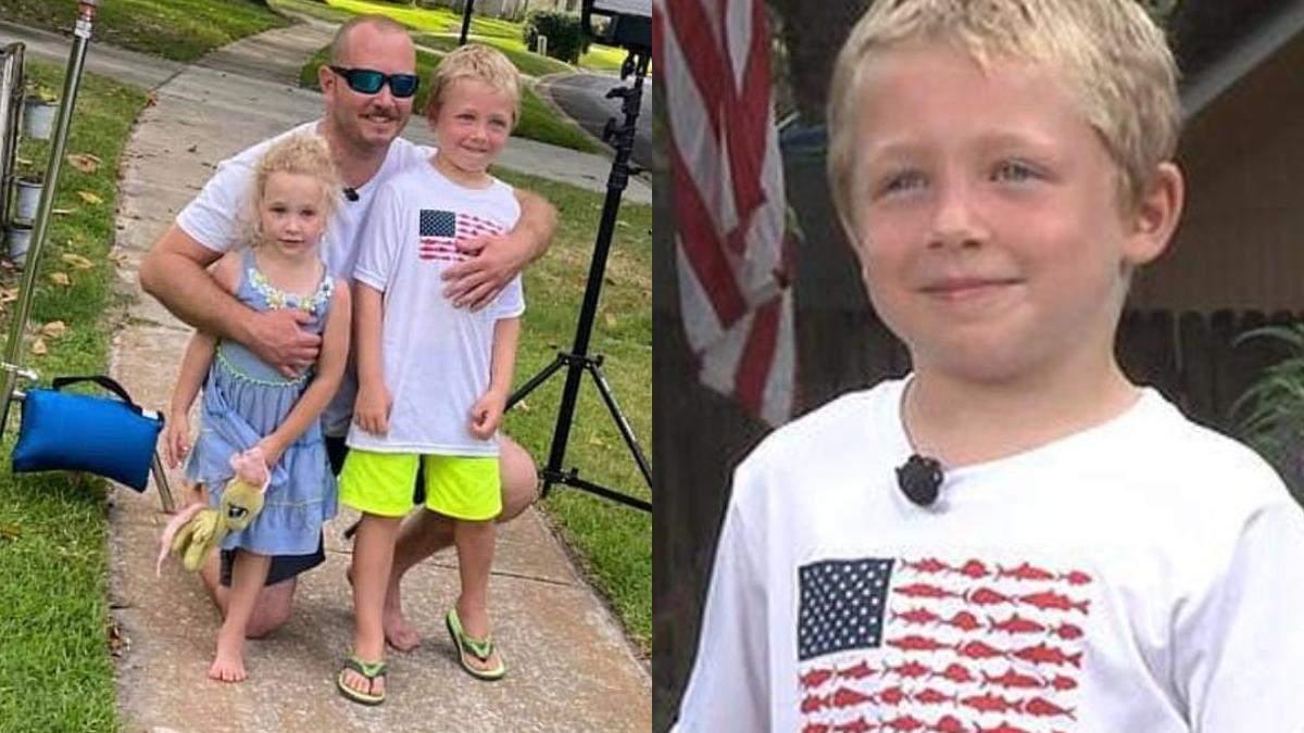 7-летний мальчик час плыл к берегу, чтобы спасти отца и сестру
