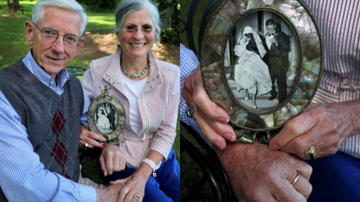 Через 55 лет после потери мужчина смог вернуть свое обручальное кольцо