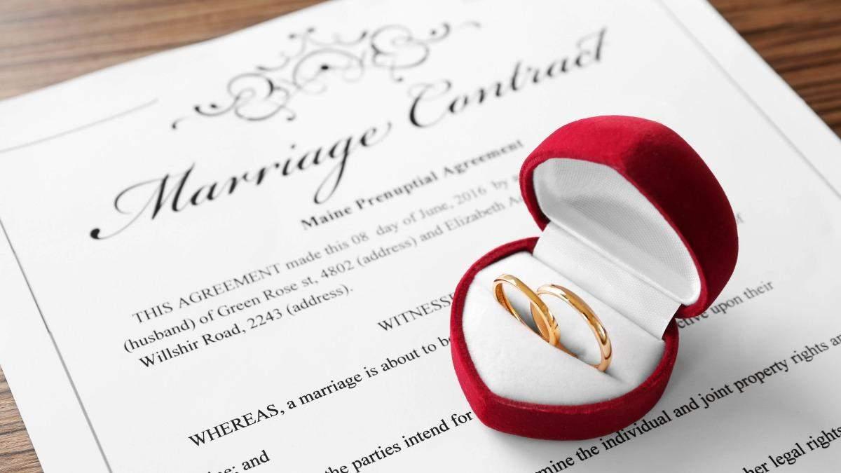 Чому потрібно підписувати шлюбний контракт: 5 причин від адвоката