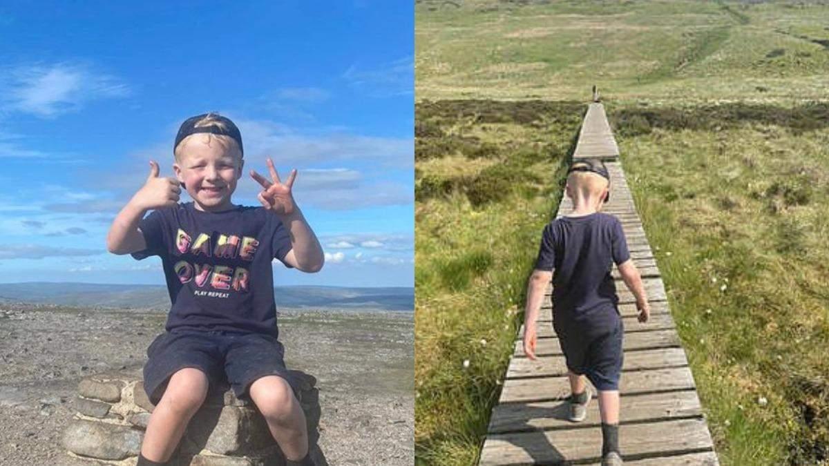 Покорил 3 вершины за 1 день: мальчик в 5 лет установил новый рекорд