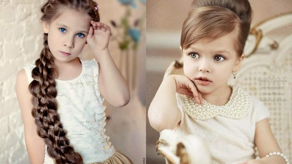 Зачіски для дівчаток на кожен день: 50+ фото зачісок