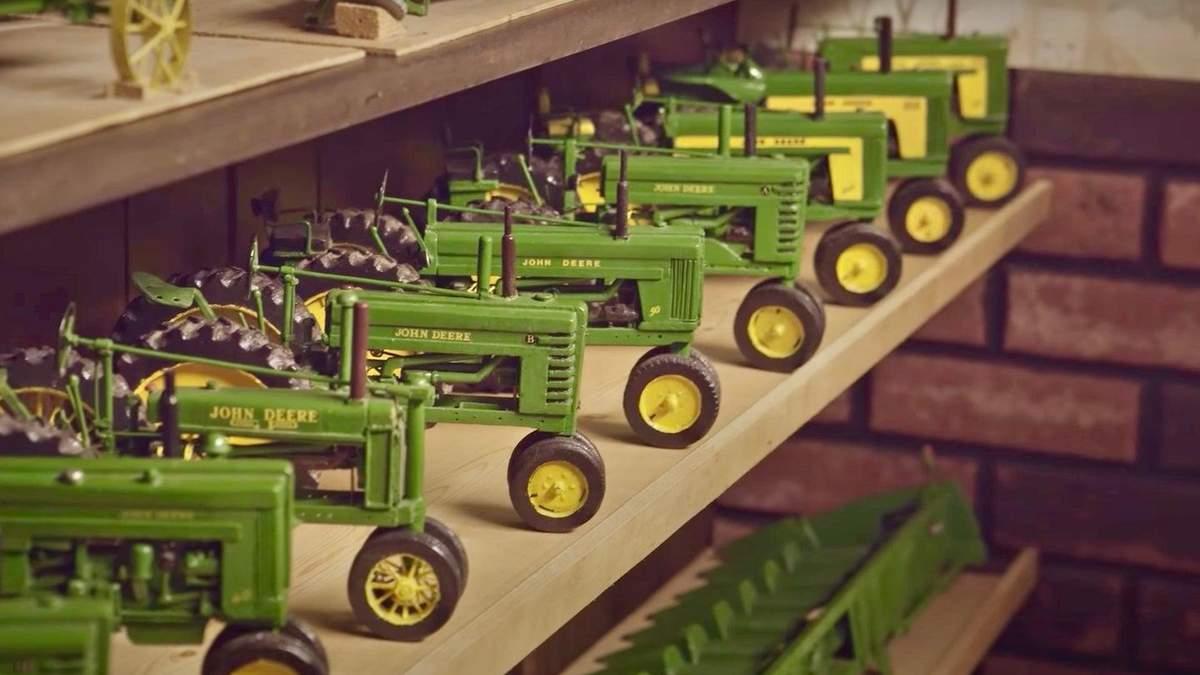 92-річний дідусь зі США робить з дерева реалістичні моделі сільськогосподарської техніки - Сім'я