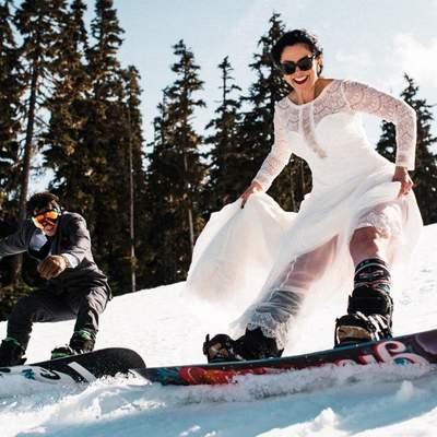 """Сафари, Эверест и """"Браке в небе"""": какие экстремальные свадебные кадры делают влюбленные – фото"""