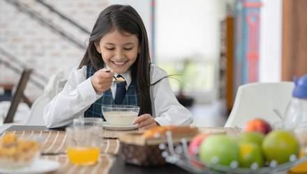 Як сніданок може покращити успішність дитини в школі: цікаве дослідження науковців