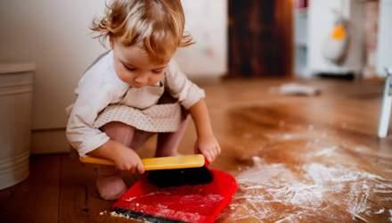Домашні обов'язки: що повинна вміти робити дитина у різному віці