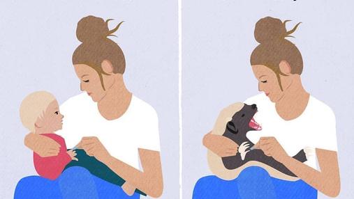 Комікси, які змусять вас усміхнутися: мама-художниця показала, яким насправді є материнство