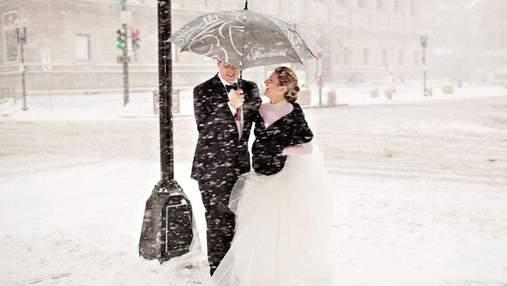 Невероятные фото, доказывающие, что свадьба зимой может быть красивой