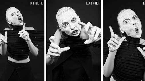 Ирэна Карпа снялась в эксцентричной фотосессии для украинского издания L'Officiel