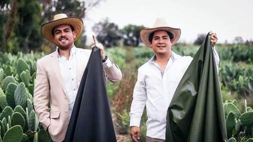 Двоє друзів з Мексики почали виробляти екошкіру з кактуса: історія створення бренду Desserto