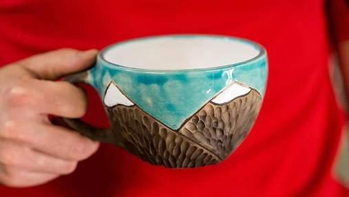З юнацького хобі в успішний бізнес: на Покутті родина виготовляє унікальні керамічні вироби