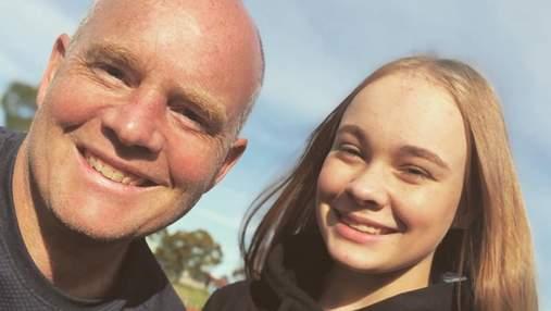 Батько намагався повторити за донькою гімнастичні вправи: кумедні відео