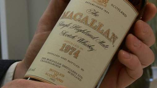 28 років британець отримував у дарунок від батька віскі: колекція зробила його мільйонером