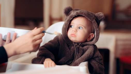 Харчування до 3 років: яку їжу не можна давати дитині