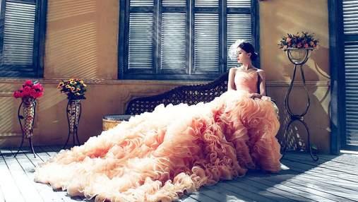 60-метровое свадебное платье: интересная затея невесты, которая шокировала мир