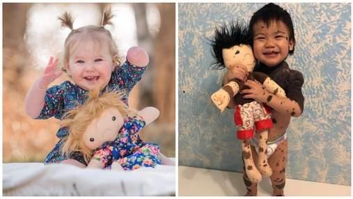 Лялька, як я: майстриня виготовляє персоналізовані іграшки для дітей з фізичними відмінностями