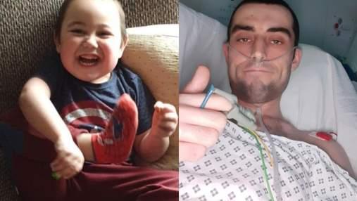 Он думает, что я настоящий супергерой, – отец пожертвовал почку, чтобы сын имел нормальную жизнь