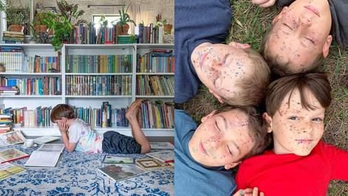Обучение на дому: как мама самостоятельно занимается образованием детей – фото