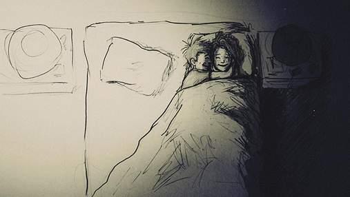 Мужчина проиллюстрировал год своей жизни с любимой в 365 рисунках: милый комикс