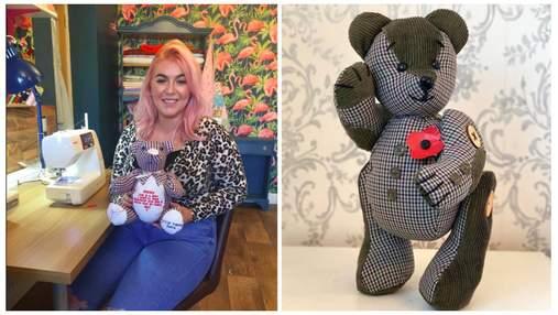 Зберігає спогади: британка шиє ведмедиків з улюбленого одягу тих, хто відійшов у вічність