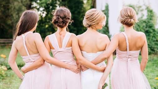 Состричь волосы и заплатить за свадебное платье: что самое странное просили невесты у подружек