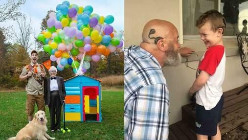 Перше селфі та довгоочікувана зустріч з онукою: зворушливі вчинки бабусь та дідусів – фото